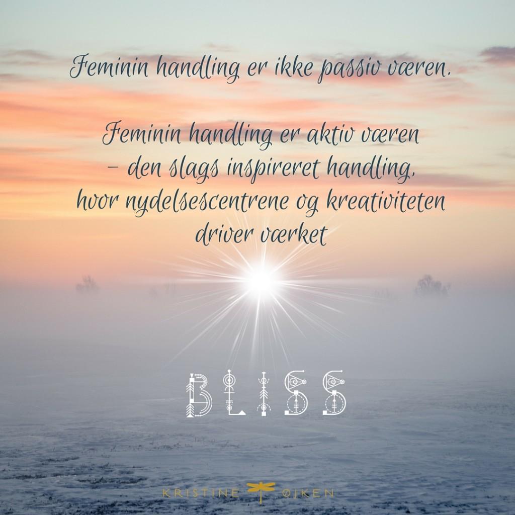 Kristineojken Bliss